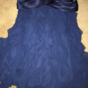 Cache Dresses - Semi formal navy blue dress